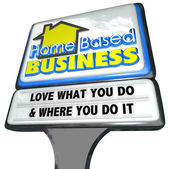 Home Based Business — Stock Photo