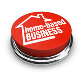 Home Based Business Button — Stock Photo