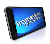 Immersive Experience Words — Stock Photo