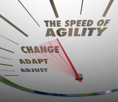 Speed of Agility Speedometer