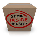 Stuck Inside the Box — Stock Photo