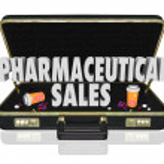 Pharmaceutical Sales Briefcase Medicine Samples Pills Capsules — Stock Photo #50104887
