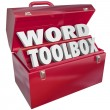 Word Toolbox Teaching Tools Resources Spelling Reading Lesson Ai — Stock Photo #50104935