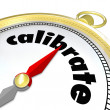 Calibrate Adjust Change Course Gold Compass Align Direction — Stock Photo #50105177