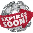 Expires Soon Clock Sphere Limited Time Offer Deadline — Stock Photo #50105283