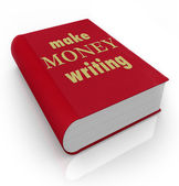 Make Money Writing Book Cover Title Earn Professional Author — ストック写真