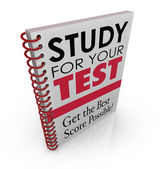 Study for Your Test book — Stock Photo