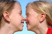Sisterly love — Stock Photo