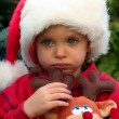 Christmas girl — Stock Photo #13850520