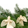 Stock Photo: Christmas angels