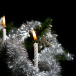 Foto Stock: Christmas candles