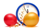 Colorful New Years Eve — Stock Photo