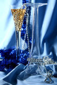 Blue celebration — Stock Photo