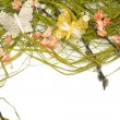 Stock Photo: Easter floral arrangement