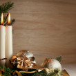 Golden christmas — Stockfoto