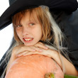 Young witch — Stock Photo