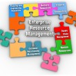 Stock Photo: ERM Enterprise Resource Management Solution