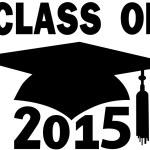 Class of 2015 College High School Graduation Cap — Stock Vector #28250721