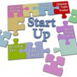 Stock Photo: LeStart Up business plsolution