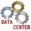 Data center technology network — Stock Photo