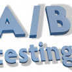 A B Testing marketing experiment — Stock Photo