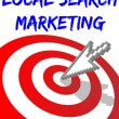 Stock Vector: Find Local Search Targeted Marketing