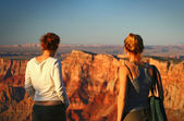 Watching the Grand Canyon — Stock Photo