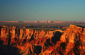 Grand Canyon at the sunset — Stock Photo