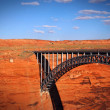 Glen Canyon Dam Bridge — Stock Photo #33142575