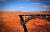 Glen Canyon Dam Bridge — Stock Photo