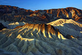 Sandstone Hills of Death Valley — Stock Photo