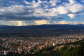 Panoramic view of Bogota City — Stock Photo