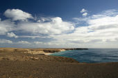 Panorama of coastline — Stock Photo