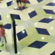 Multilevel shopping mall, time lapse — Stock Video