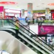 Shopping Mall Escalators — Stockvideo