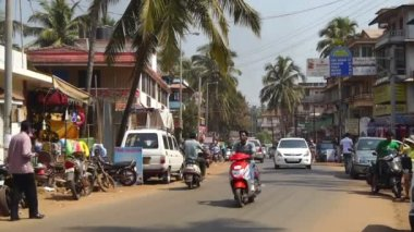 Streets of Goa India — Stock Video #12468112