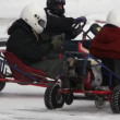 Winter carting — Stock Video #12480835