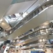 Stock Video: Shopping Mall Escalators