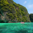 Stock Video: Boat trip to tropical islands, Thailand