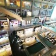 Stock Video: Shopping mall timelapse in motion