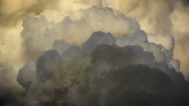 выхлопной дым — Стоковое видео