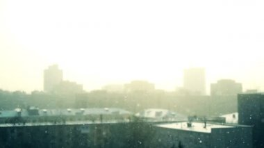 снег — Стоковое видео