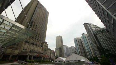 Сity skyline, Kuala Lumpur, Malaysia — Stock Video