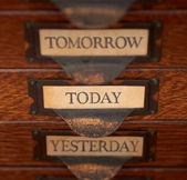 Skupić się na dzisiaj — Zdjęcie stockowe