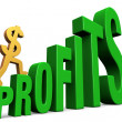 Increasing Profits - Foto de Stock