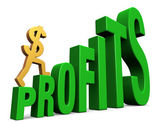 Increasing Profits — Stockfoto