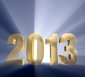 Bold Year 2013 — Stock Photo