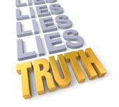 Truth Prevails — Stock Photo