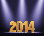 Presenting The New Year, 2014 — Stock Photo