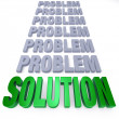 Solution to Problems — Foto Stock